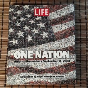 LIFE, One Nation 9 11 01 hardcover book